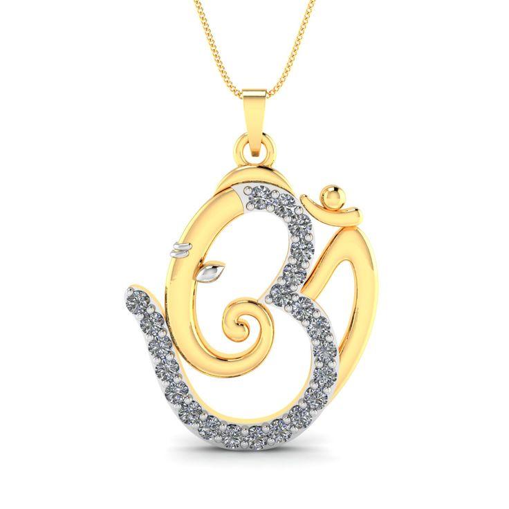 Om Shree Ganesh Pendant