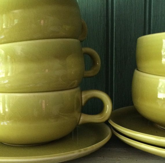 Russel Wright American Modern Cups by putnamandspeedwell on Etsy