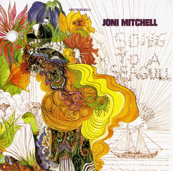 Best ever psychedelic album covers – Joni Mitchell 'Song To A Seagull'