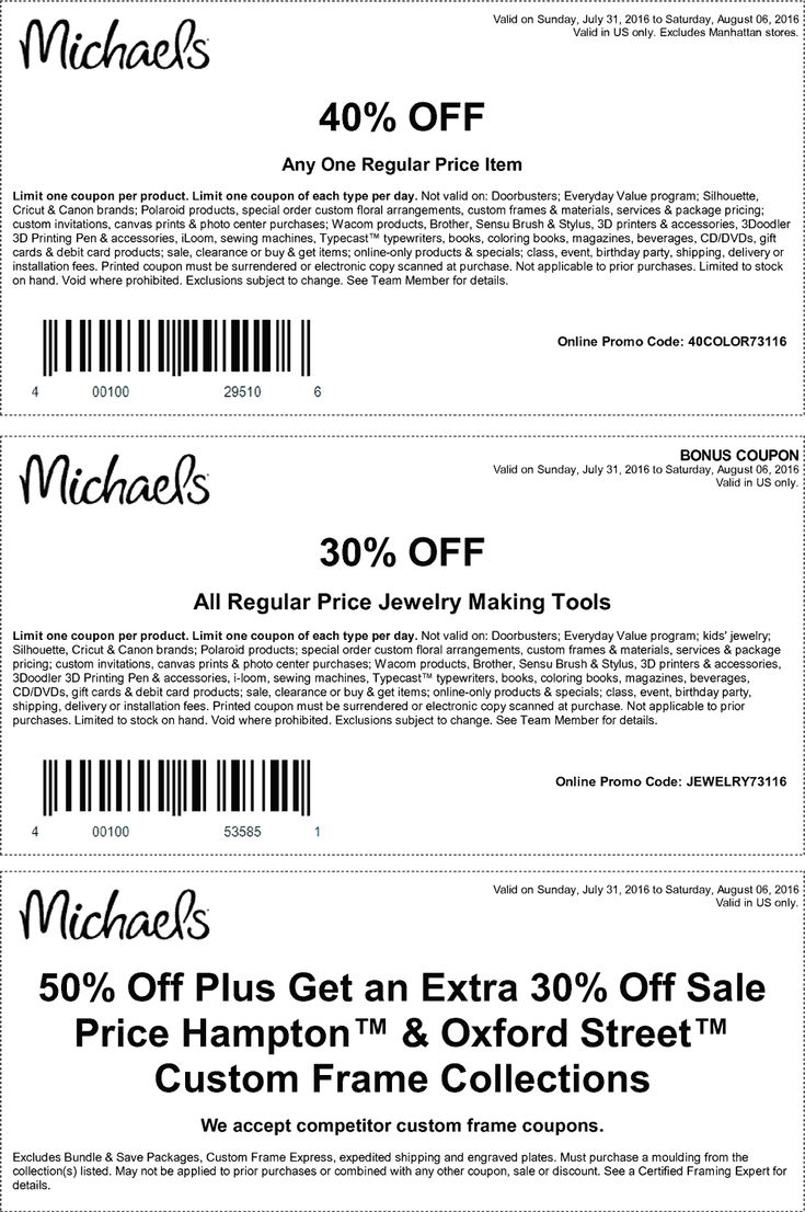 Michaels coupon michaels promo code from the coupons app off a single item at michaels or online via promo code june