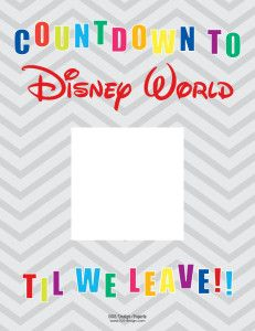 Countdown to Disney Calendar — 505 Design+Paperie
