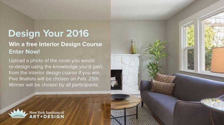 Enter to win a free interior design course!