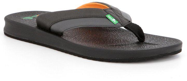 Sanuk Men s Brumeister Flip Flops