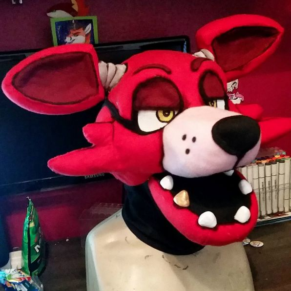 FNaF Foxy Head By CowSprite On DeviantArt