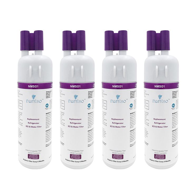 4pack namtso refrigerator ice water filter replacement