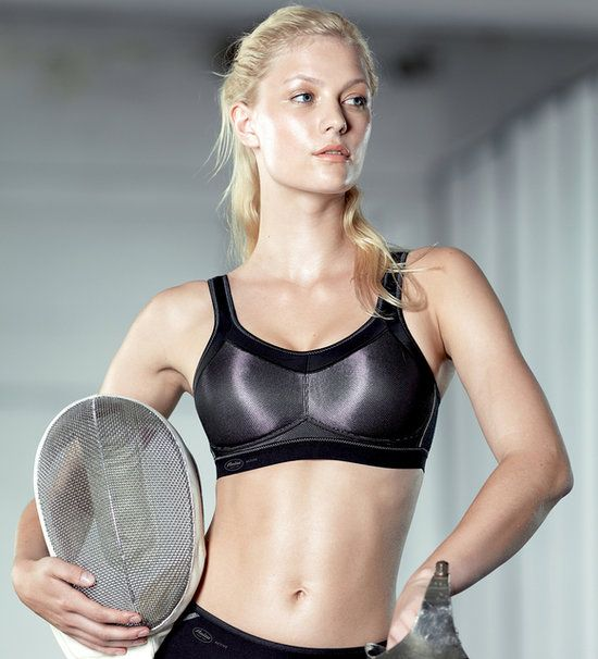 The perfect sports bra made for unusual sizes (30-40 in cups A-G)!