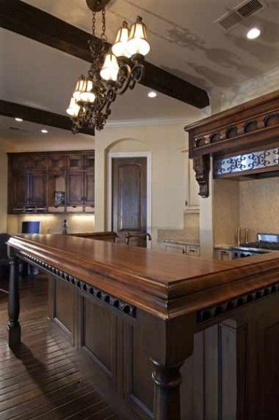 21 best images about santa fe on pinterest western homes for Old world style kitchen