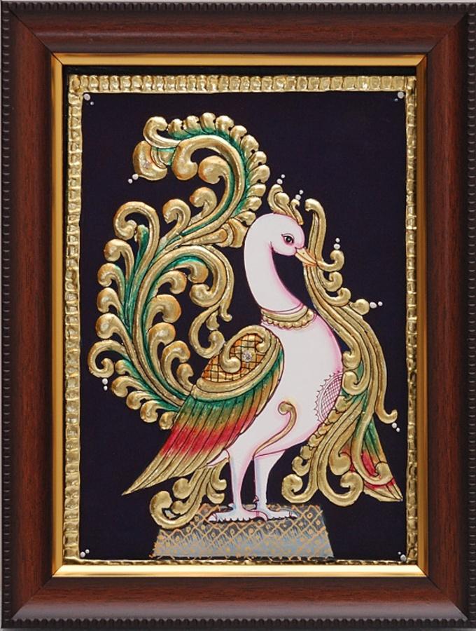 Tanjore Paintings - Peacock