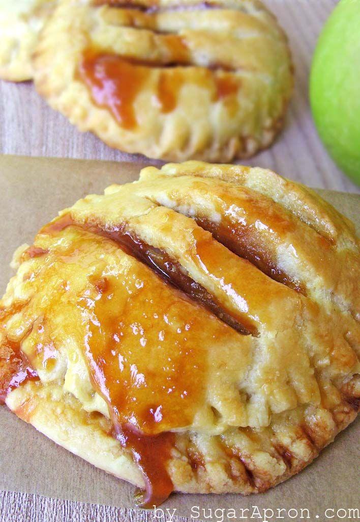 Individual Salted Caramel Apple Pies   Sugar Apron - Part 2