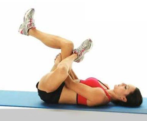 ejercicios para enderezar las piernas