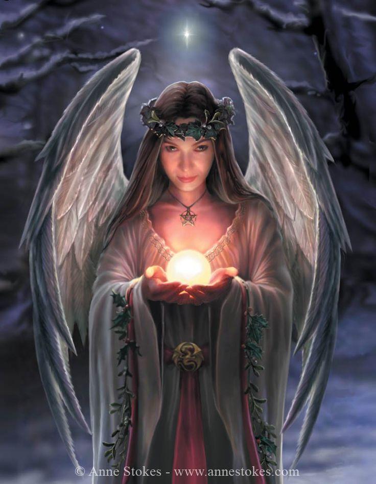 Fae - Anne Stokes - Yule Angel