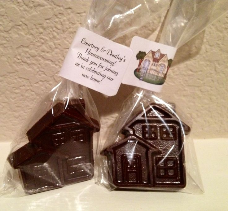 Housewarming party favors, created by me