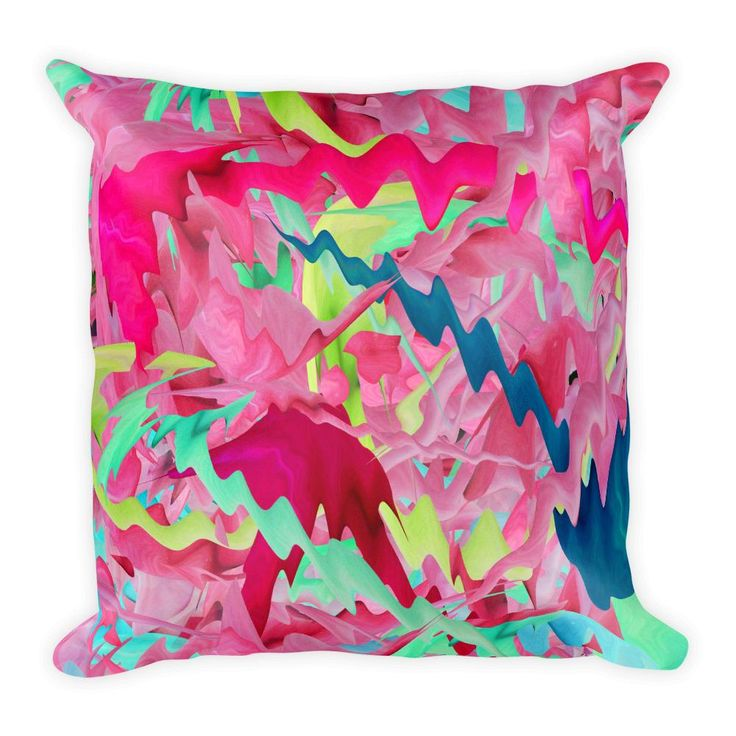 Rose paradise Square Pillow