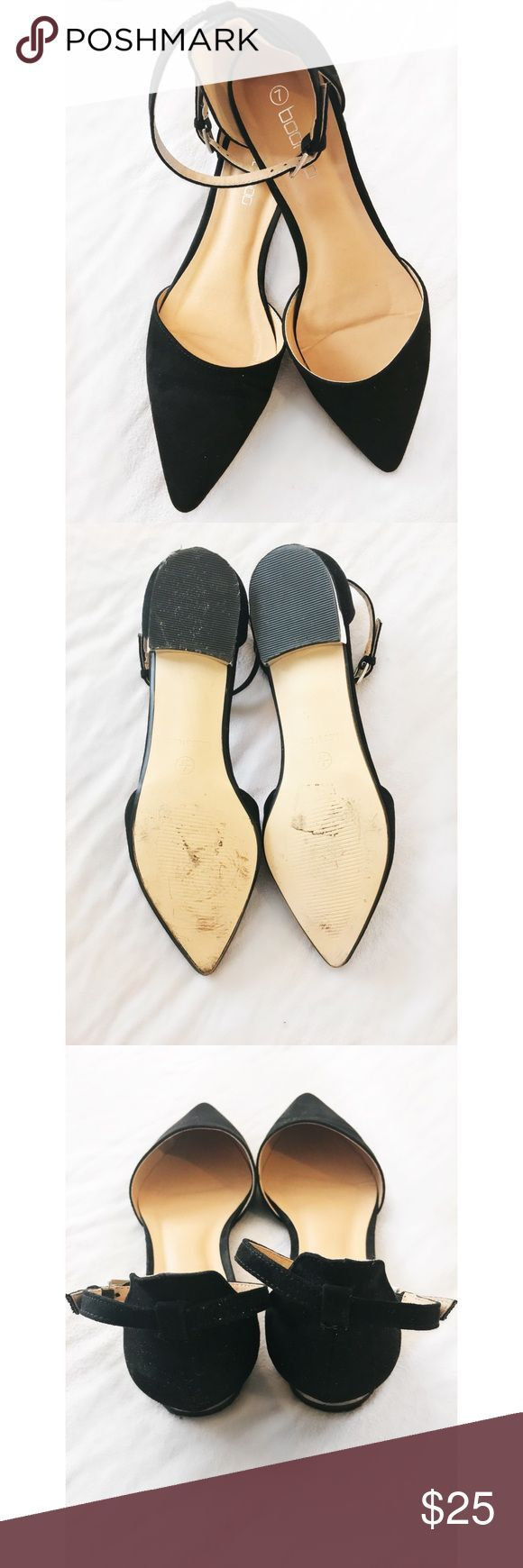 Tendance Chaussures 2017/ 2018 : Size 9 flats pointy toe with strap Worn once to a wedding. Comfortable and styli