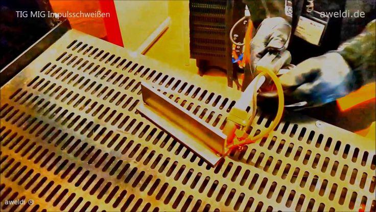 Schweißen bei EWM in Ulm TIG Welding Tungsten Inert Gas MIG Schweißen Me...