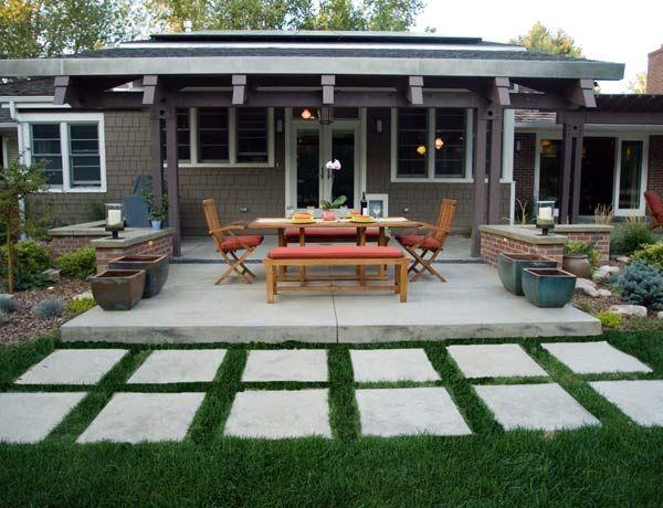 Best 25+ Large Concrete Pavers Ideas On Pinterest | Concrete Pavers, Modern  Patio Design And Concrete Patio