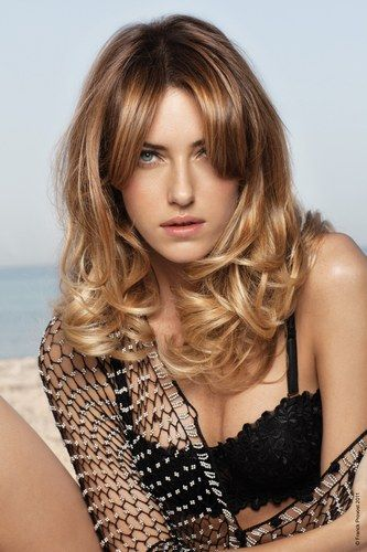 long soft curls Hair styles 2012