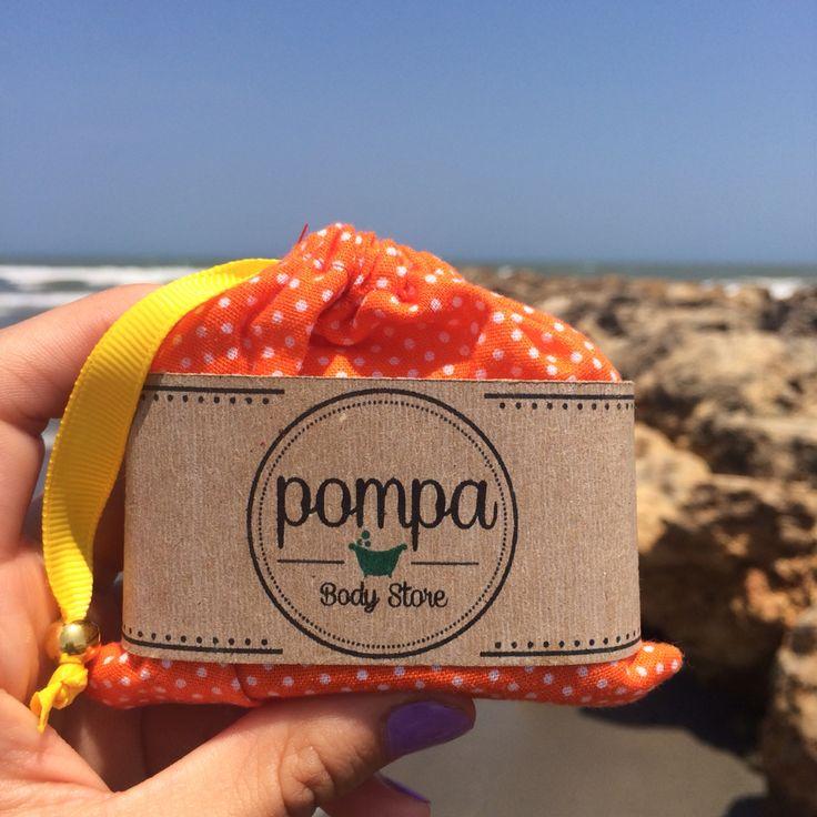 After a sunny day, a great soap for your skin! /Después de un día soleado, el mejor jabón para tu piel   #pompaBodyStore #soapLovers #homemadeSoap #loveYourSkin #allNatural