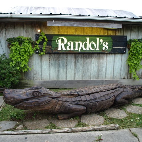 Randol's serves up fresh seafood and offers a dance floor for those who want to dance to the live Cajun music.