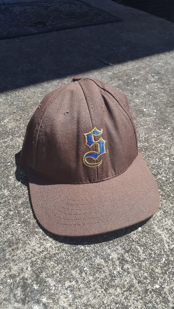 a96f543a923 Vintage Supreme Fitted Gothic S Logo Cap Rare Hat (eBay Link ...