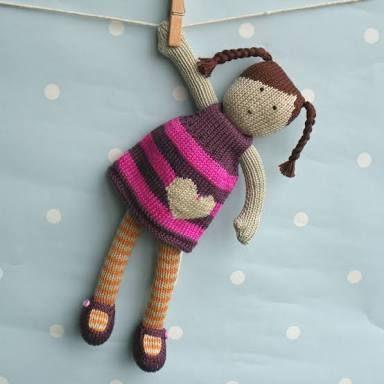 Resultado de imagen para knitting doll