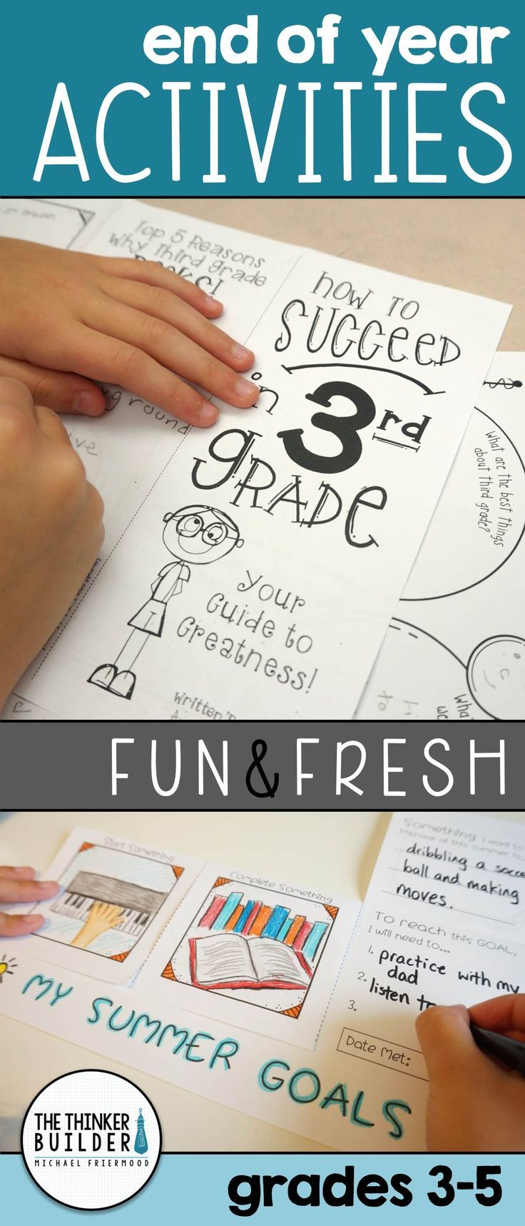 END OF THE YEAR Activities: Fun & Fresh