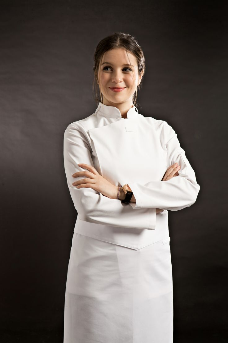 Masterchef apron (white) official merchandise - Working Wear Guoup Amont White Chef Coat Chefwear Cheflife Cook Apron