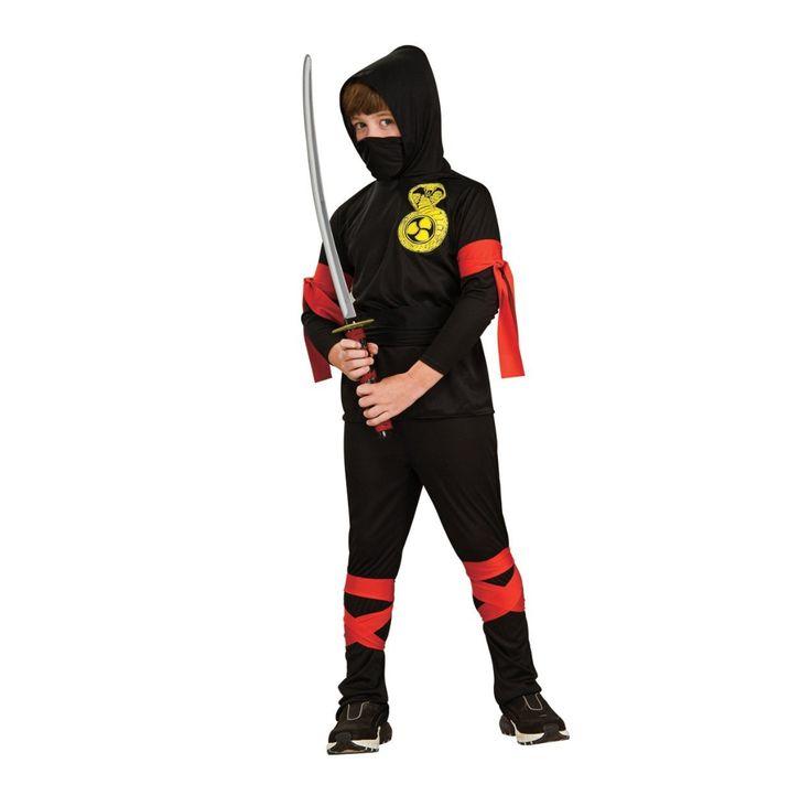 Costume da ninja guerriero http://www.regaliperbambini.org/abbigliamento/costumi-carnevale/costume-da-ninja-guerriero