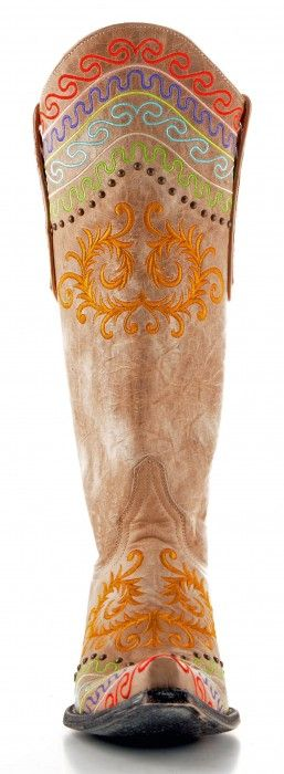 Old Gringo Zarape Boots Bone -- as featured on Horses & Heels! http://www.horsesandheels.com/2012/10/gringo-boot-shopping-laura/#