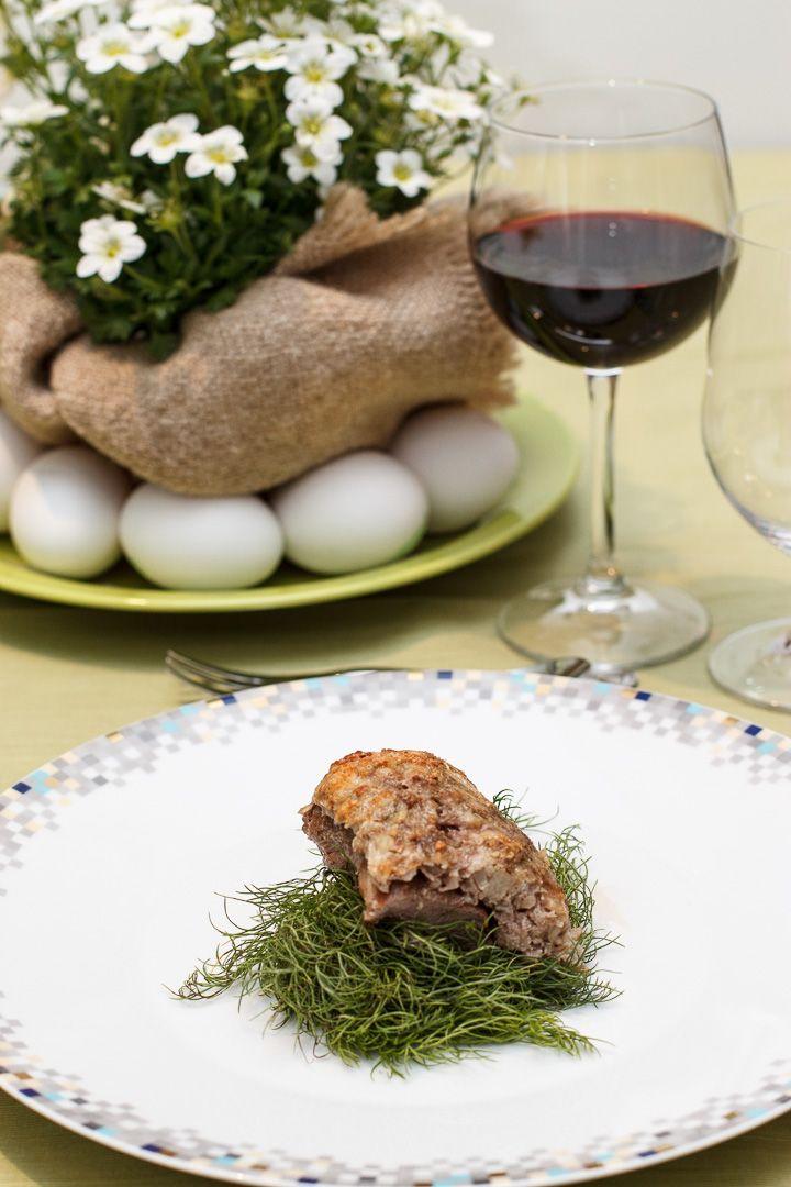 carro di agnello con finocchietto e pecorino