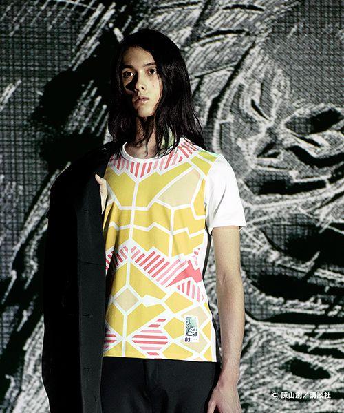 アンリアレイジ×『進撃の巨人』のコラボTシャツ発売 - 光で模様が浮かび上がる! | ニュース - ファッションプレス
