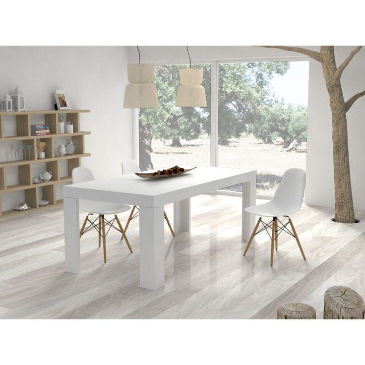 Tavoli Bianchi Da Cucina. Dueste Tavolo Quadrato Allungabile Made In ...