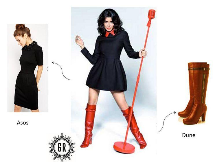 je veux le m me look que jenifer chaussures valentino jenifer et robe asos. Black Bedroom Furniture Sets. Home Design Ideas