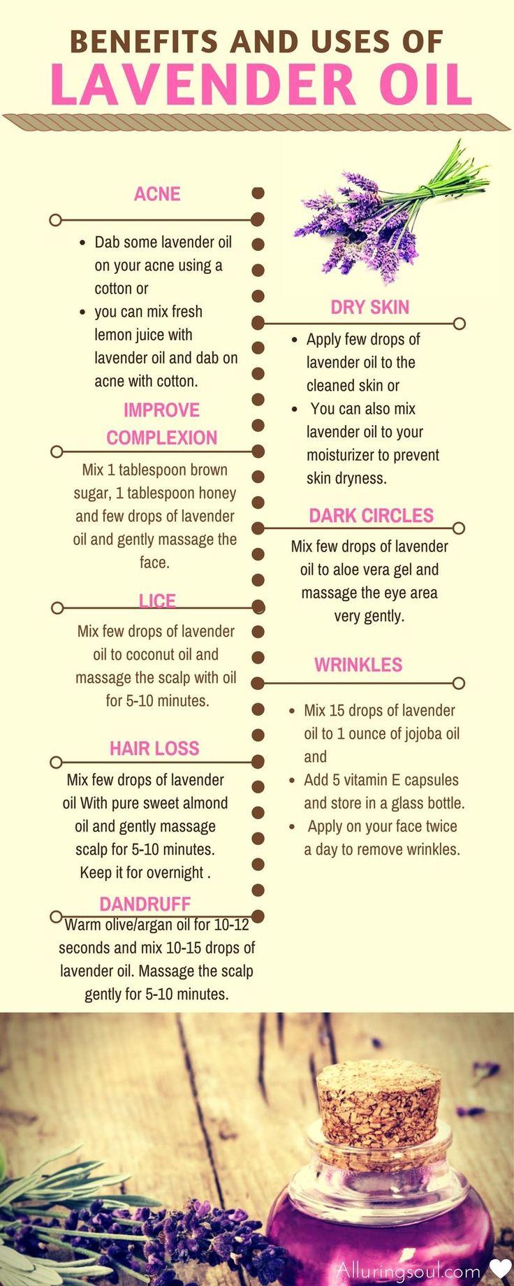 16 Lavendelöl verwendet und Vorteile für Gesicht und Haare
