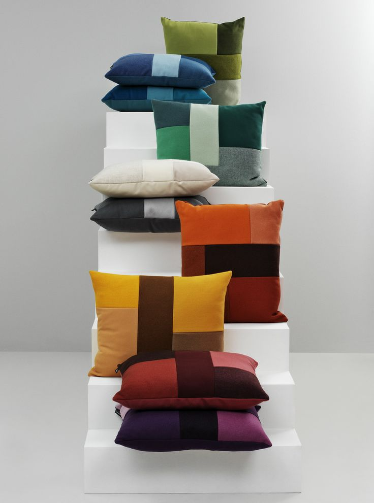 Brick Cushions http://decdesignecasa.blogspot.it