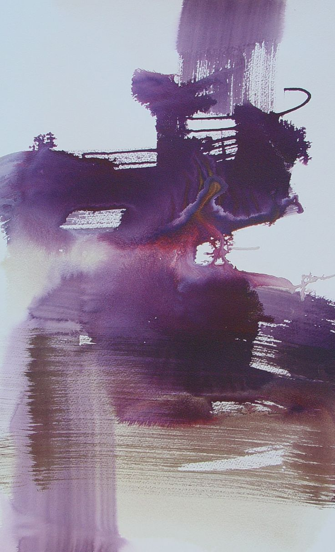 "Bianka Guna Art "" Silk Road""   2005 Series  Acrylic on Cold Pressed Watercolour Paper  22""x15"""
