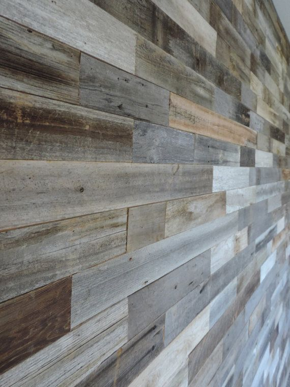 Interior Wood Paneling: SAMPLE PACK*** Reclaimed Interior Barn Wood Wall Paneling