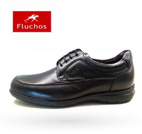 Zapatos Fluchos modelo 8498 en negro