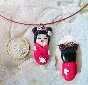 Geisha pendant