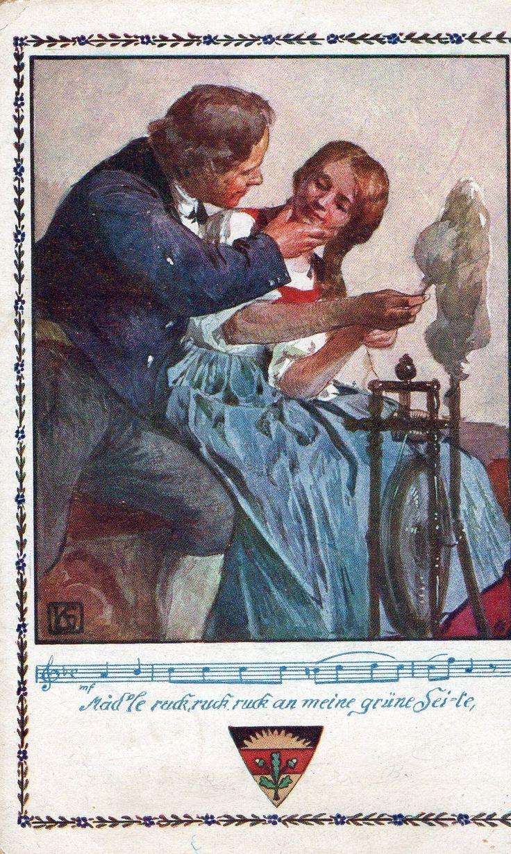 Austrian postcard. 1917
