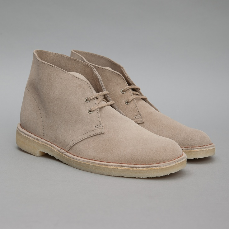 Clarks Originals Desert Boot in Sand Suede