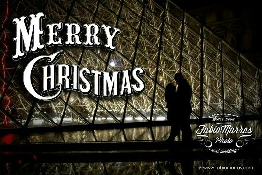 Merry Christmas to all lovers - Photo taken in Paris, Louvre Museum