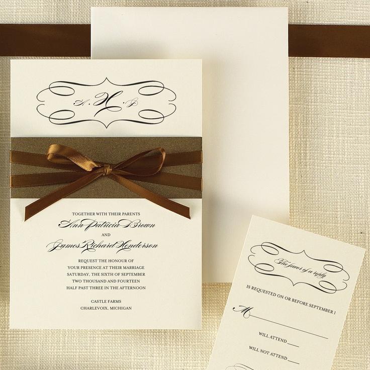 Milan Bride Wedding Invitation | #exclusivelyweddings | #weddinginvitations