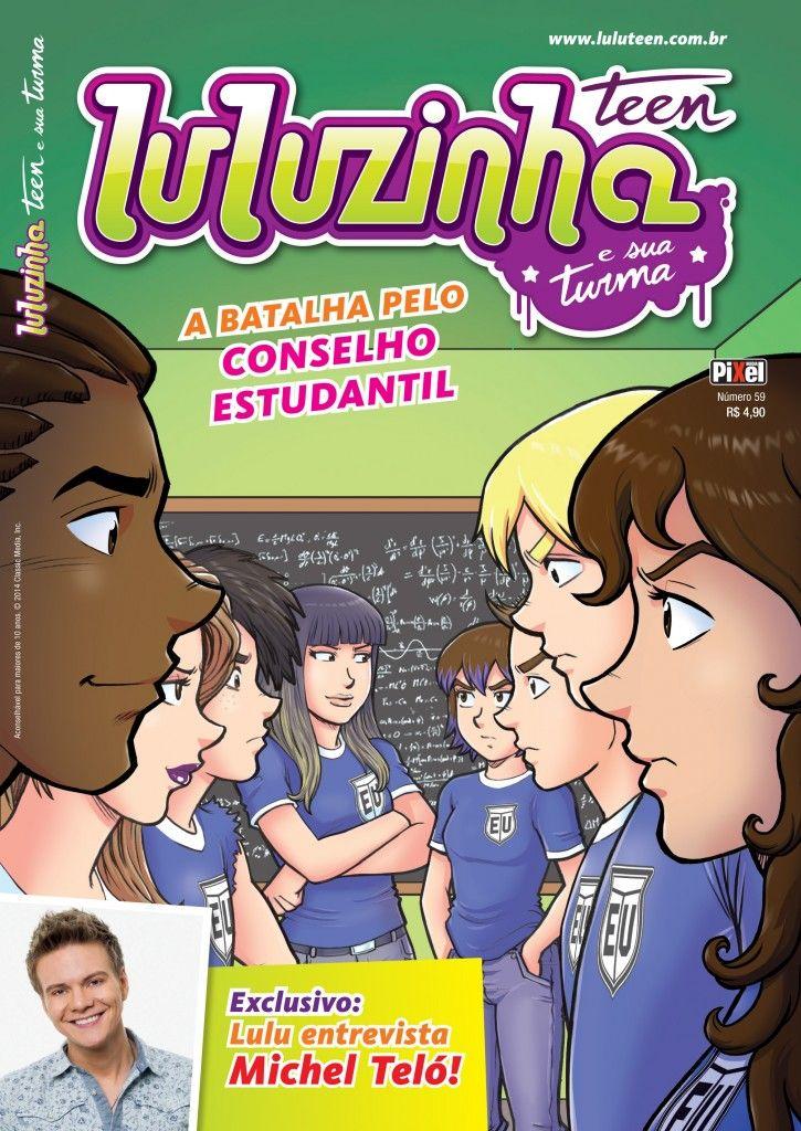 Luluzinha Teen 59: Quem fica com o conselho estudantil da Escola Unida