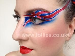 Olympic Face Painting Designs