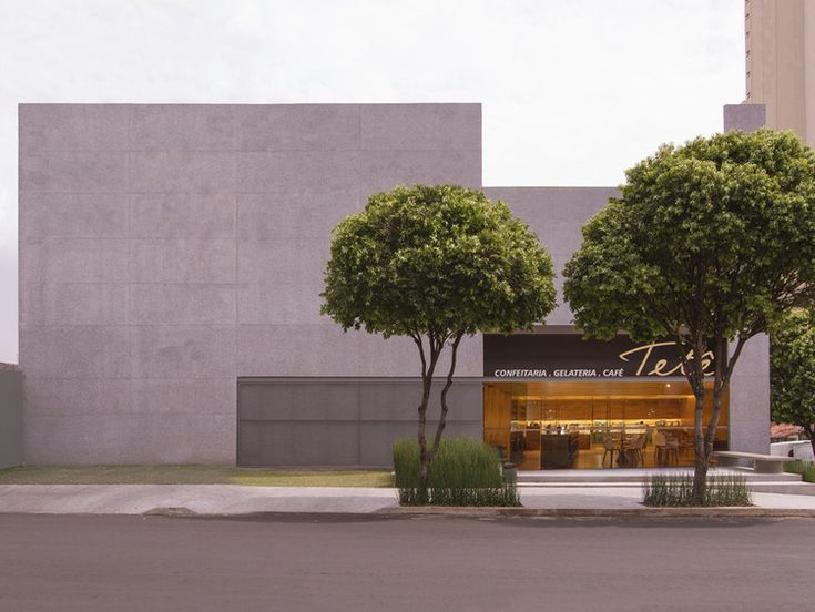 14 best facades images on pinterest contemporary architecture tet bakery caracho arquitetos solutioingenieria Choice Image