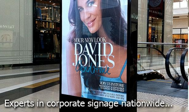 Kawana signs gives you an expertise solution in corporate signage nationwide.  For more information visit www.kawanasigns.com.au