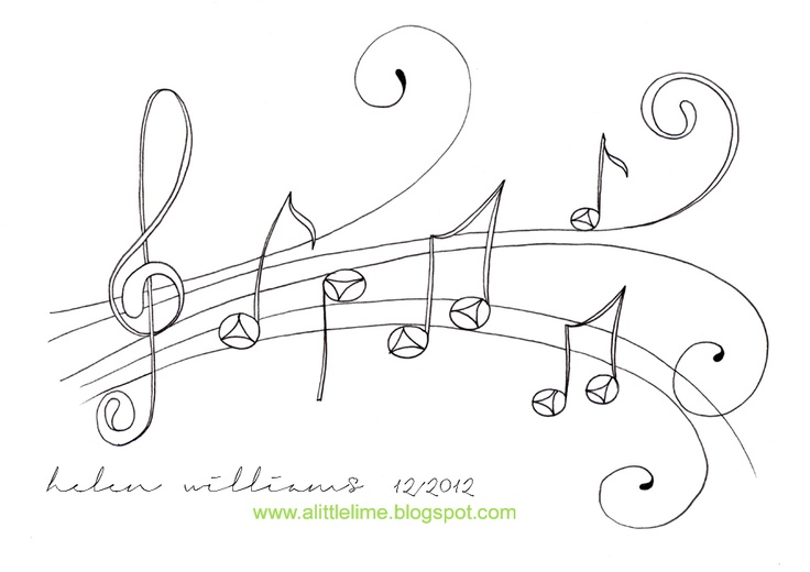 126 best musical note templates images on Pinterest