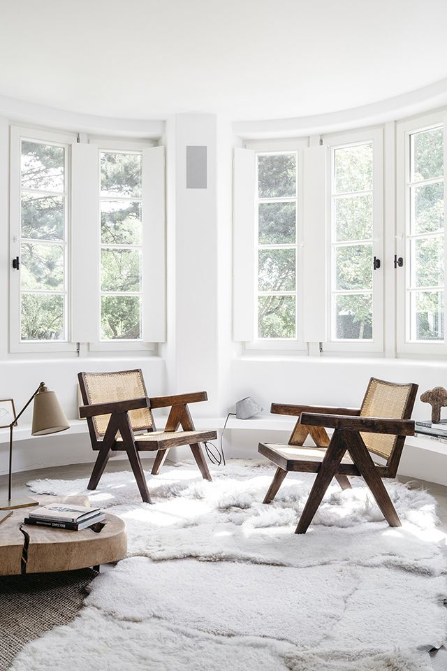 A Nordic Style Summerhouse By Bea Mombaers (The Design Chaser). White  Interiors, House ...