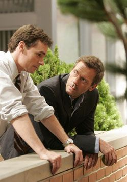 House and Wilson. American medical doctor versions of Holmes and Watson. No wonder I loved this show so much.